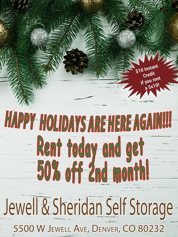 Jewell Amp Sheridan Denver Colorado Self Storage For